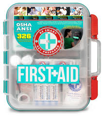 Faucet Eyewash Osha Compliant by Amazon Com 2 Pack First Aid Kit With Hard Case 326 Pcs Each