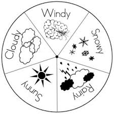 20 Best Weather Colouring Images On Pinterest