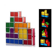Tetris Stackable Led Desk Lamp India by Tetris Inspired Stackable Building Blocks Led Lamp Yellow Octopus