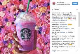 And Maybe Most Importantly To Starbucks Its Inherently Instagrammable The Tune Of 150000 Pics On Platform So Far Using Unicornfrappuccino