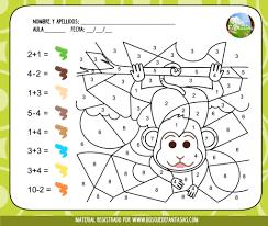 Hoja De Trabajo Para Colorear Adn Pdf Y Matematicas Para El Primer