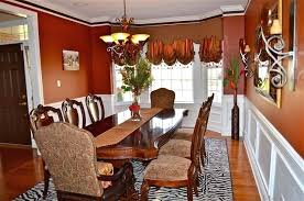 Dining Room Window Treatment Ideas Excellent Bay Treatments For Other Windows In With Fine Formal Curtain