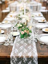Spring Table Decorations Uk Best Lace Ideas On Runners Wedding Settings