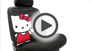 Betty Boop Seat Covers And Floor Mats by Plasticolor Hello Kitty Low Back Bucket Seat Cover Pep Boys