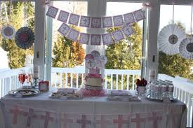 Baptism Decoration Ideas Pinterest by Baptism Party Ideas Christening Party Partying With The
