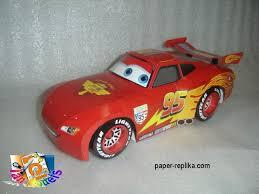 Cars 2 Lightning McQueen Papercraft