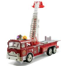 100 Fire Truck Sirens Amazoncom Liberty Imports 12 Bump Go Rescue Engine