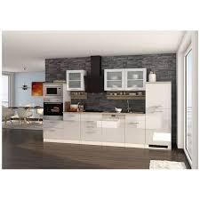 küche inklusive e geräte 340 cm weiß maranello 03 weiß hochglanz de