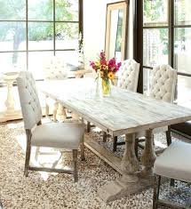 Fancy Dining Table Room Tables Distressed Kitchen Sets Elegant