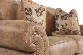 Ashley Furniture Larkinhurst Sofa Sleeper by Nailhead Trimmed Traditional 66