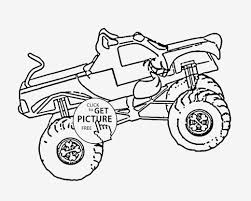 Sampler Free Monster Truck Coloring Pages To Print Drawing With Kids ...