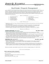 Realtor Resume Examples Real Estate Sample Entry Level John Q Example Re