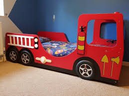 Bed - Haani Fire Engine Single Bed Frame - Turning Steering Wheel ... Red Fire Engine Bed With Led Lights Majestic Furnishings Truck Woodworking Plan By Plans4wood Kidkraft Toddler Wayfaircouk Mtbnjcom Freddy Single Amart Fniture Truck Bed Step 2 Little Tikes Toddler Itructions Inspiration Amazoncom Delta Children Wood Nick Jr Paw Patrol Baby Fresh Step Pagesluthiercom Cheap Set Find Deals On Line At 460330 Bunk Beds Seatnsleep Coolest Ever Firefighter In Florida Builds Replica Fire