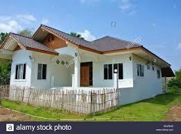 100 Thai Modern House House Bungalow Land Stock Photo 79704281 Alamy