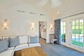 Brazilian Decoration Living Room Beach Style With Wood Chair Throw Pillows Slate Floor Part 34