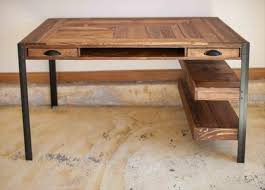 fabriquer un bureau avec des palettes interessant fabriquer bureau en palette mod les diy et tutoriel