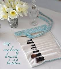 Easy Sewing Projects To Sell DIY Make Up Brush Holder