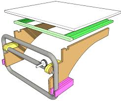 Sawstop Cabinet Saw Dimensions by Outfeed Table For Dewalt Table Saw For 10 Includes Plans 4 Steps