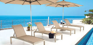 Stackable Outdoor Sling Chairs by Orion Collection Castelle Luxury Outdoor Furniture