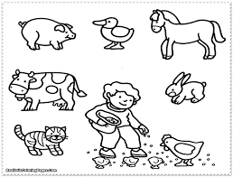 Printable Dog House Coloring Pages Realistic Animal Feed Animals Kids Baby Woodland Free Spring Zoo Wild