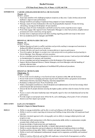 Download Regional HR Manager Resume Sample As Image File