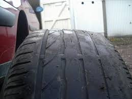 usure en facette des pneus arrières citroën mécanique