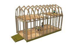 10x20 Shed Plans With Loft by This Is A 10x20 Gambrel Style Roof Storage Shed With Lots Of Space