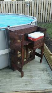 Portable Patio Bar Ideas by Best 25 Above Ground Pool Ideas On Pinterest Swimming Pool