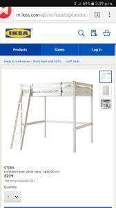 Ikea Stora Loft Bed by Used Ikea Loft Bed In Sw16 London For 50 00 U2013 Shpock