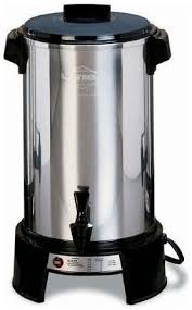 Commercial Coffee Maker Aluminum 36 Cup West Bend Everything Kitchens