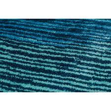 schöner wohnen badteppich mauritius 60 cm x 100 cm streifen blau