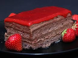 abschied leicht gemacht mit schokoladen erdbeer torte