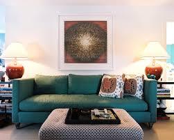 Teal And Orange Living Room Decor by Dark Teal And Brown Living Room