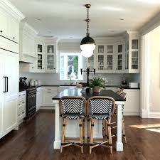 Fabulous Black And White Kitchen Interior Designer Home