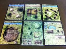 dungeons and dragons tiles master set dungeon tiles master set the wilderness includes dt4 ruins of the
