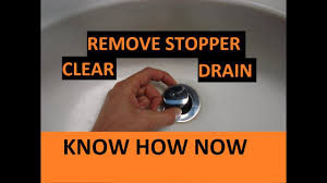 Removing Sink Stopper American Standard by Remove Bathroom Pop Up Stopper Unclog Sink Youtube