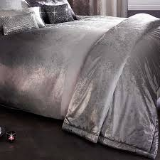 Ombre Slate Duvet Cover Single 140x200cm by Kylie at Home at