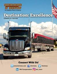 100 Tmc Trucking Training Destination Excellence Summer 2017 Edition By TMC Transportation