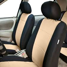 Neoprene 3 Row Car Seat Covers For SUV VAN TRUCK, Airbag Compatible ...
