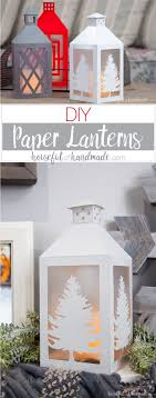Decorate Your Farmhouse On A Budget With These Popular DIY Paper Lanterns They Are Easy