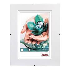 hama cadre photo sans bordure clip fix verre r achat vente