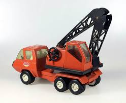 100 Tonka Crane Truck Vintage 1970s Mini CRANE In Good Working Condition