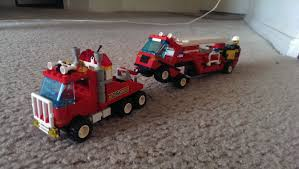 Follow Up To An Earlier Post. Rebuilt The Classic Red Tow Truck ... Review Lego 60132 Service Station Custom Vehicle Heavy Duty Wrecker Tow Truck Youtube City Set 60056 Lego 4635 Fun With Vehicles I Brick City Amazoncom Great Pickup 60081 Custombricksde Technic Model Custombricks Moc Instruction Toys Games Complete Town Minifigure Car 42070 All Terrain De Toyz Shop