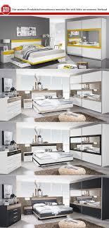 schlafzimmer set tarragona bett nakos kleiderschrank grau