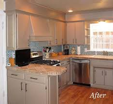 Paint The Soffet Same Color At Cabinets And Add Some Molding