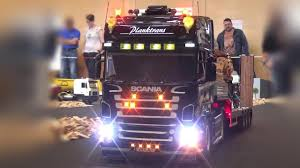 Black Scania R620 RC Truck With Lights,Sound And A Very Old ...