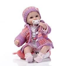 New Silicone Reborn Dolls For Sale 16inches 42CM Size Newborn Babies