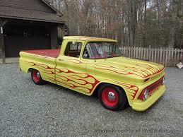 100 Custom C10 Trucks 1963 Used Chevrolet SWB Fleetside Low Rider For Sale