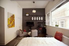 Decor White Wall Apartment Bedroom Ideas Interior Design White