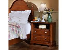 Vaughan Bassett Triple Dresser by Vaughan Bassett Cottage Commode Nightstand Great American Home